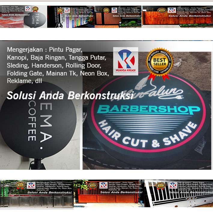 Jasa Bengkel Las Terpercaya Tangerang-pintu pagar minimalis